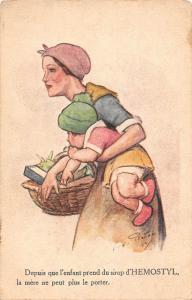 Fantasy Depuis que l'enfant prend du sirop d'Hemostyl, mere ne peut porter...