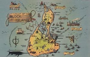 Map Of Block Island Rhode Island