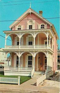 Victorian Architecture Cape May NY New Jersey 1976 Chrome