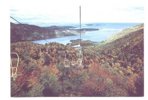 Chair Lift, Cape Smokey, Ingonish, Cape Breton Nova Scotia, Lawson Graphics