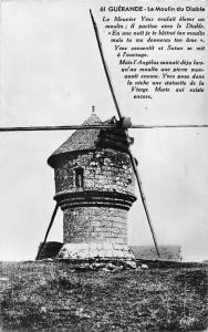 France Guerande Le Moulin du Diable, Le Meunier Yves Mill Muehle