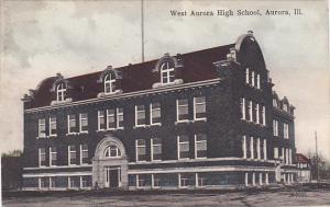 Illinois Aurora West Aurora high School 1913