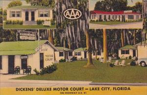 Florida Lake City Dickens Deluxe Motor Court