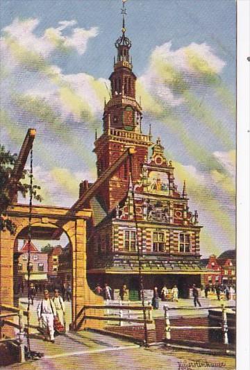 Netherlands Alkmaar Waag en Kaasmarkt