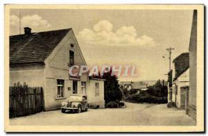 Old Postcard Novy Dum U Křivoklátu Automotive