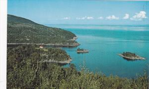 Port-Au-Saumon, North Shore Between Murray Bay and St. Simeon, Quebec, Canada...