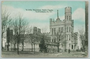 Carbondale~Southern Illinois Normal University~Science Hall~Gym~1908 CU Williams