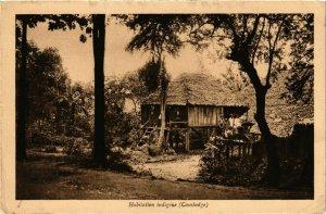 CPA AK INDOCHINA Habitation indigene VIETNAM (956918)