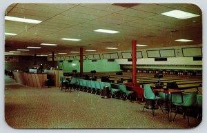 Colorado Springs CO~Ute Lanes~Brunswick Bowling Alley Interior~Ash Trays~1960s
