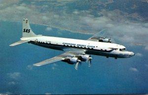 SAS Scandination Airlines System DC 7 C