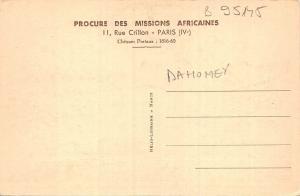 B95145   baptemes et premieres communions le pere dahomey benin africa types