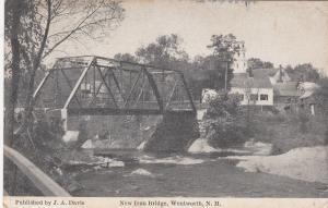 WENTWORTH, New Hampshire, 1911; New Iron Bridge