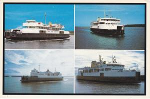 4-Views, M.V. Lord Selkirk, M.V. Prince Nova, Confederation Ferry, Prince E...