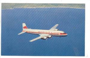 WESTERN Airlines DC-6B Airplane, Commercial Issue , 1950s