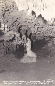 The Virgin Mary Lake Meramec Cavern Stanton Missouri Real Photo