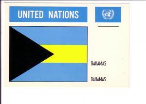 Bahamas Flag, United Nations