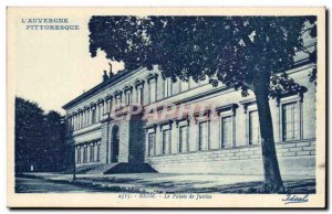 Riom Old Postcard Palace juctice