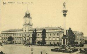 poland, WARSAW WARSZAWA, Zamek Królewski (1920s) Postcard