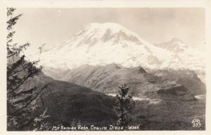 RP: Mt Rainer from Cowlitz Divide , Washington , 30-40s ; ELLIS 353