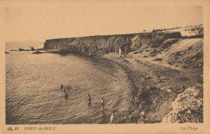 PORT-de-BOUC , France, 1900-1910s; La Plage