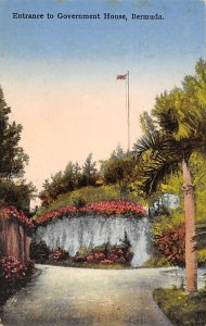 Entrance to Government House Bermuda Postal used unknown