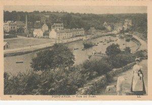 PONT-AVEN , France, 1900-1910´s; Vue Du Port