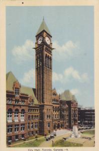 City Hall (Exterior), Toronto, Ontario, Canada, 1910-1920s