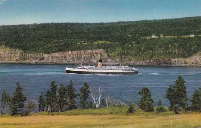 Ferry Princess Helene - Saint John, NB to Digby, NS Canada
