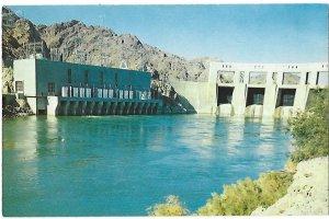 Parker Dam and Power Plant on Colorado River Lake Havasu Behind Arizona