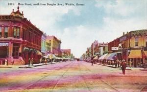 Kansas Wichita Main Street North From Douglas Avenue