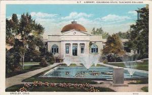 Library, Colorado State Teachers College, Greeley, Colorado, PU-1936