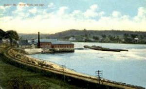 Water Works & Dam Bangor ME Unused