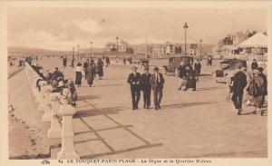 France Le Touquet La Digue et le Quartier Ridoux