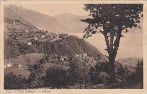 Switzerland Lac Leman Glion Totalansicht 1910