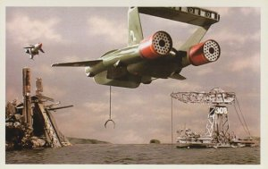 Thunderbird 1 & Thunderbirds 2 Aircraft Episode 6 TV Show Postcard