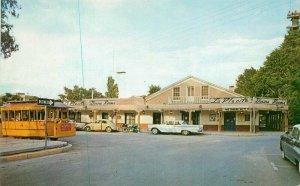 Albuquerque New Mexico Mexican Restaurant La Placita Autos Postcard 1950s 7408