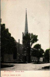 Postcard MI Adrian Methodist Protestant Church -UDB - C.1905 L17