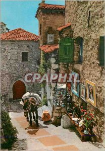 Postcard Modern Provence French Riviera Old Street Scene and Scenic Folklore ...