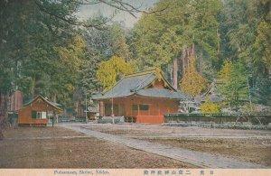 Futaarasan Shrine Nikko Old Japanese Postcard