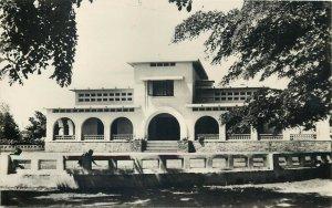 Belgian Congo colonial building rppc