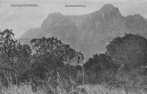 German East Africa Tanzania, Deutsch-Ost-AFrika Usambara-Gebirge, Mountains
