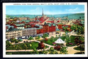 View From Admiral Beatty Hotel,Saint John,NB,Canada