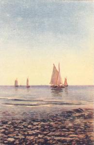 Partial Scene, Sailboats, 1900-1910s