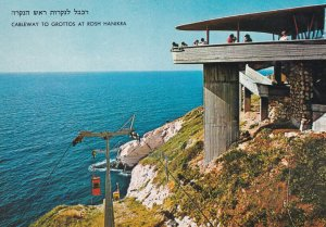 Cableway To Grottos At Rosh Hanikra,1950-60s