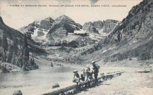 Colorado Buena Vista Hiking At Maroon Pears Round Up Lodge For Boys