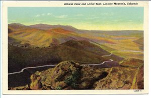 Golden, CO - Wildcat Point and Lariat Trail - Lookout Mountain - 1950s