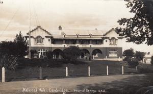 RP, National Hotel, Cambridge, England, UK, 1920-1940s