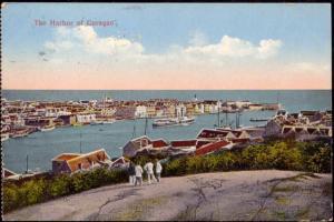 curacao, D.W.I., WILLEMSTAD, Harbour Scene (1926)