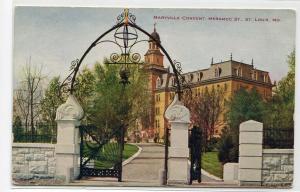 Maryville Convent Meramec Street St Louis Missouri 1910c postcard