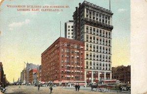 LP85    Cleveland Ohio   Postcard Williamson Building
